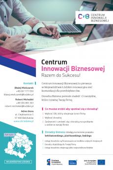 Centrum Innowacji Biznesowej - plakat