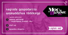 Nagroda Gospodarcza Województwa Łódzkiego Mocni wBiznesie 2018