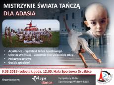 koncert charytatywny dla 3- letniego Adasia