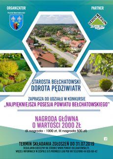 Wybieramy najpiękniejszą posesję powiatu bełchatowskiego