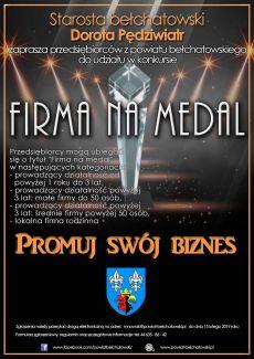 Firma na medal