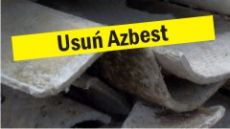 Usuwanie wyrobów zawierających azbest w 2019 r.