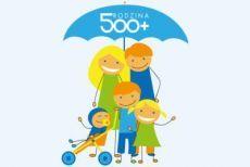 Logo świadczenia wychowawcze 500+