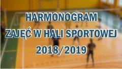 Harmonogram zajęć w haki sportowej 2018/2019